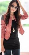 jaqueta de couro ecologico feminina 2014 3