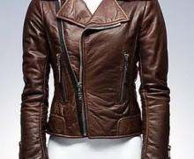 jaqueta de couro marrom 2