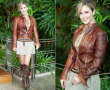 jaqueta de couro marrom 4