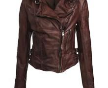 jaqueta de couro marrom 5
