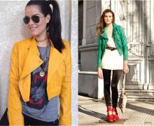 jaqueta de couro verde 1