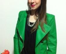 jaqueta de couro verde 5