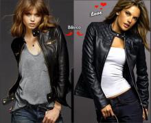 jaqueta preta de couro 2