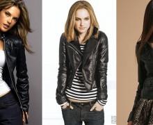jaqueta preta de couro 6