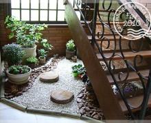 jardim na escada 1