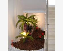 jardim na escada 4
