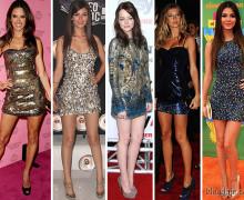 vestido de brilho curto 2