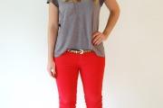 calca jeans vermelha 3