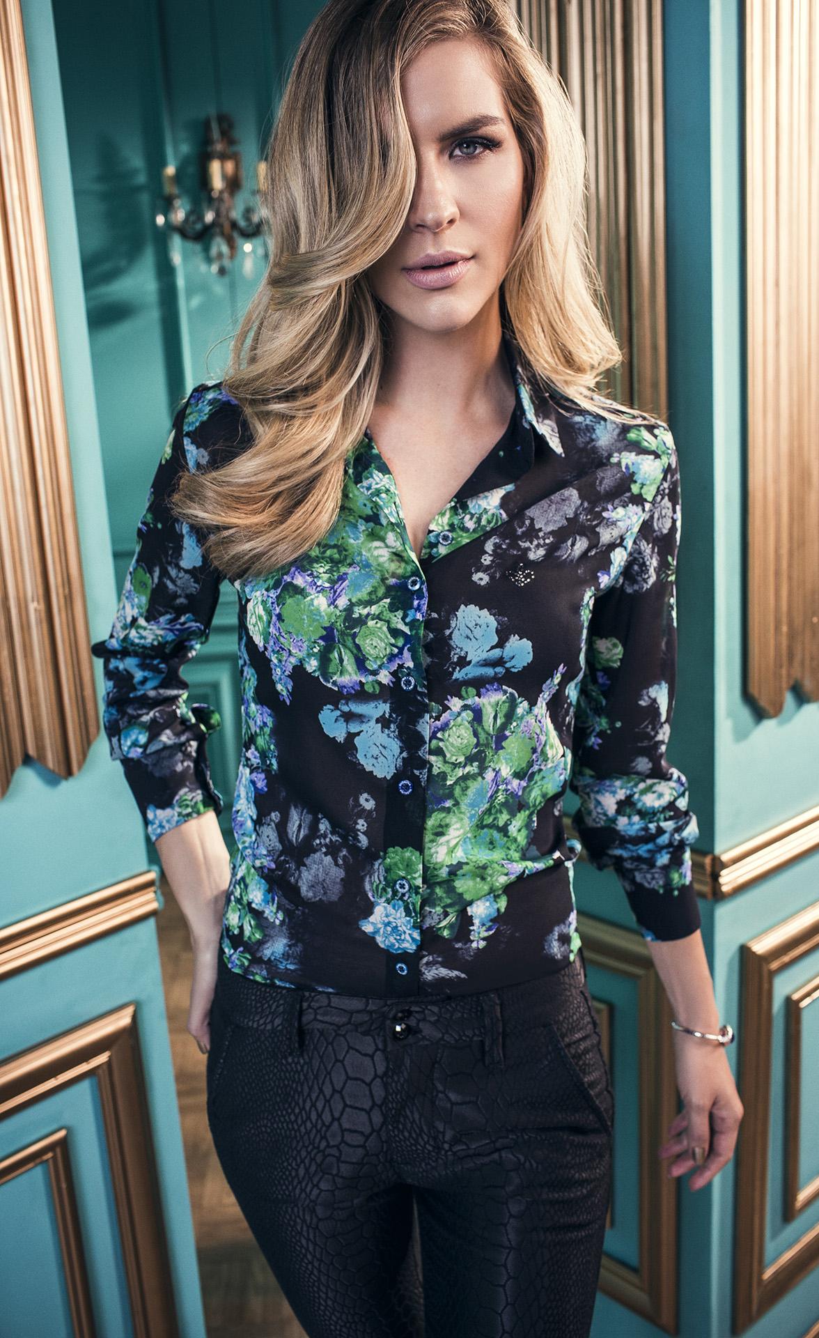 5e3672ba5e camisa dudalina feminina estampada 5 - Revista das dicasRevista das ...