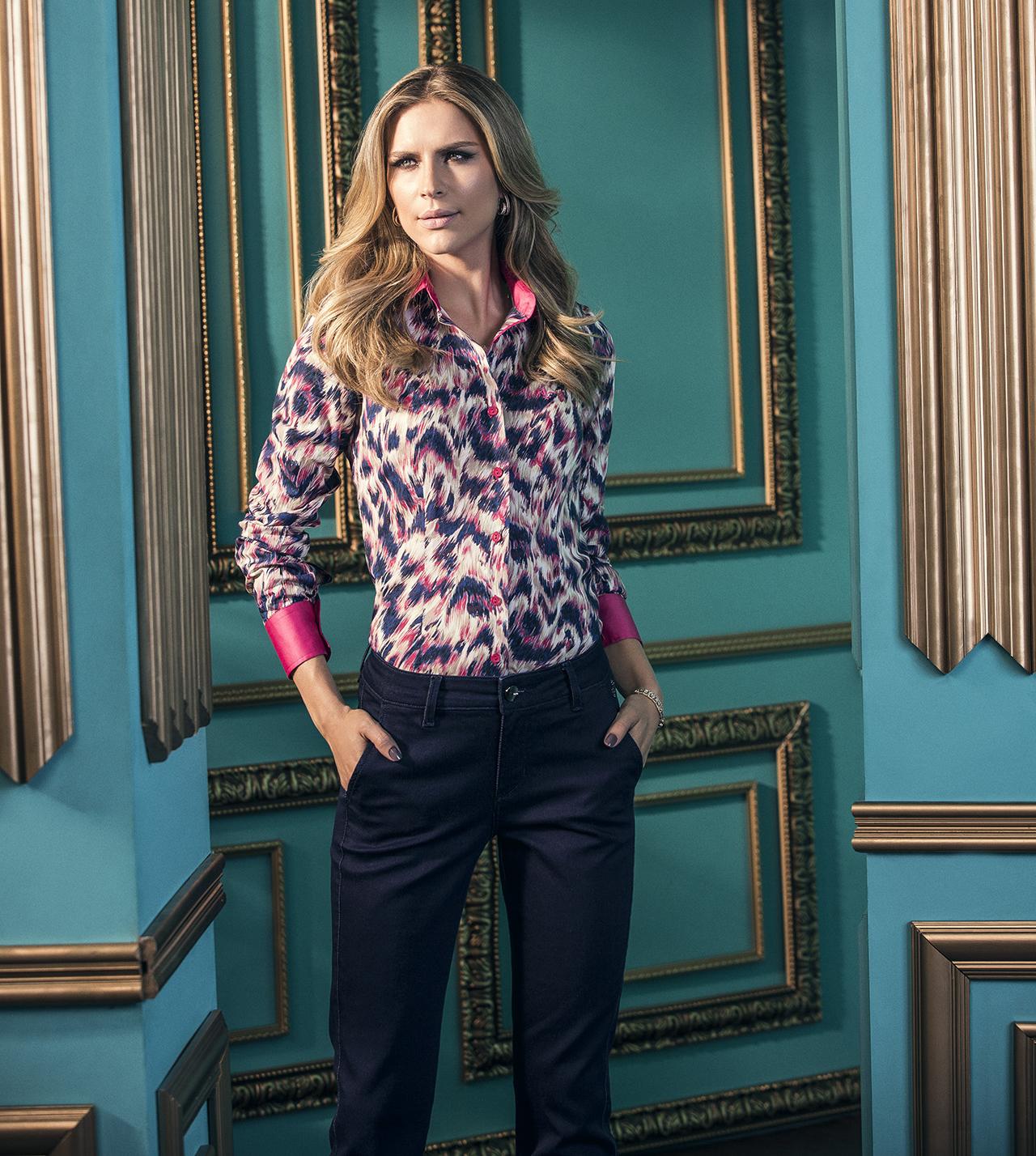 c03c6899d2 camisa dudalina feminina estampada 6 - Revista das dicasRevista das ...