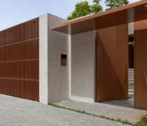 fachada de muro moderno 2