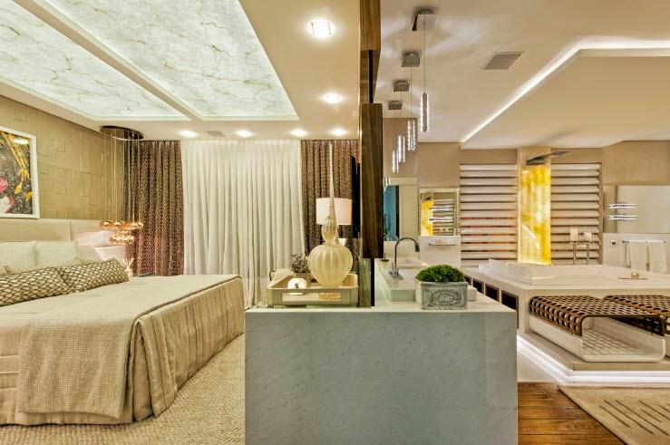suite master decorada
