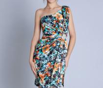 vestido estampado curto 1