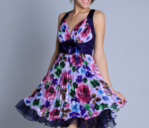 vestido estampado curto 3