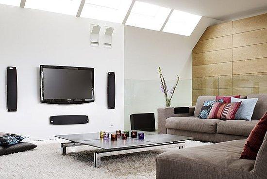 Como Montar Uma Sala De Tv Moderna ~ Sala de tv moderna tv, acessórios e corRevista das dicas
