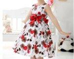 vestido florido para menina 1
