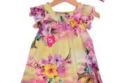 vestido florido para menina 4
