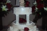 bolo de casamento de andares 3