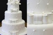 bolo de casamento de andares 4