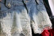 shorts com renda 3