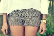 shorts com renda 4