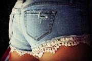 shorts com renda 6
