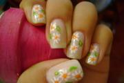 unhas com flor 2