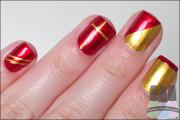 unhas com vermelho para natal 3