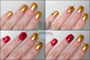 unhas com vermelho para natal 6