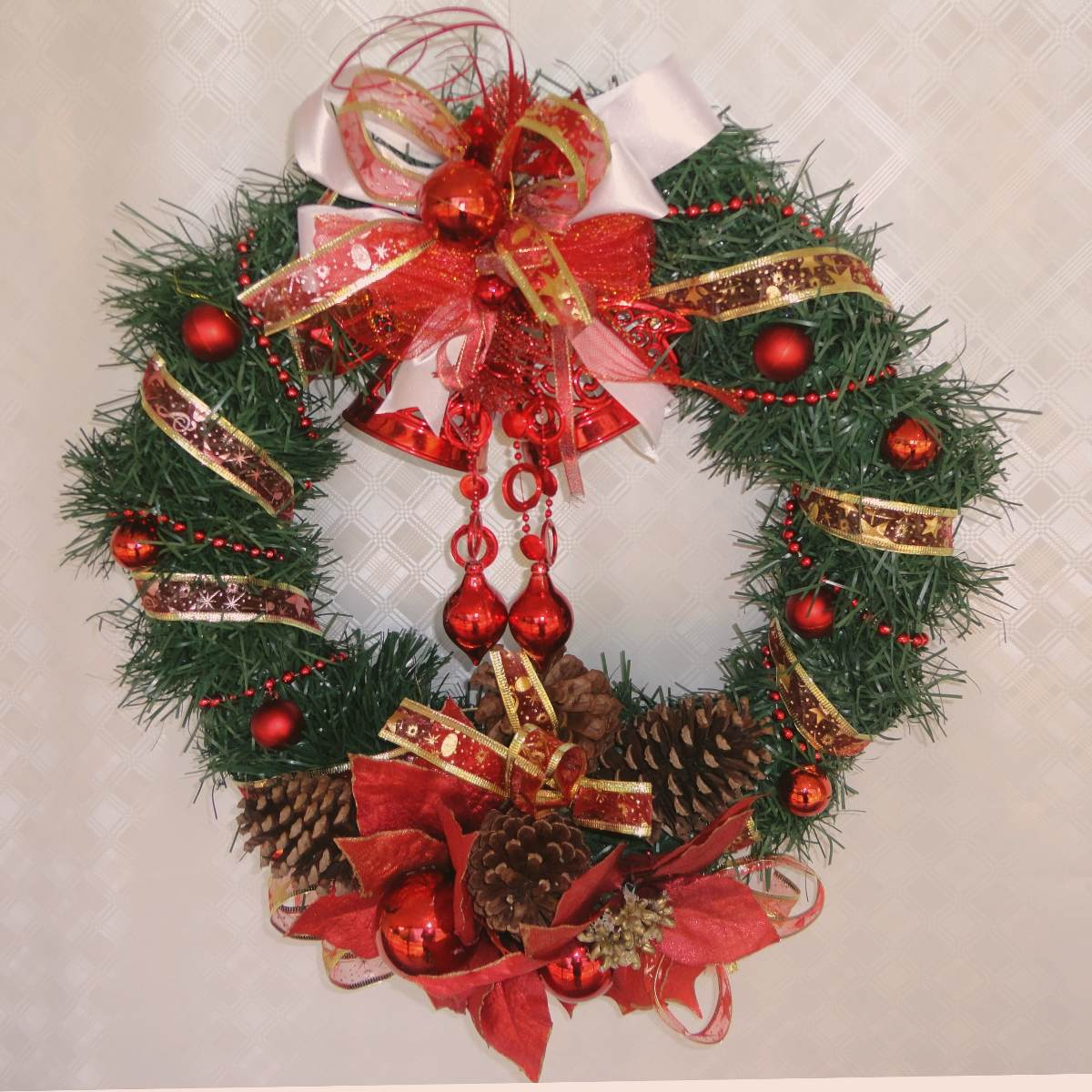 Enfeites De Natal Para Porta Sugest Es Diversas Revista Das  -> Enfeites De Fotos