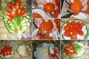 pratos de legumes para  natal 6