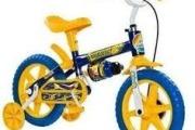 bicicleta infantil para menino 1