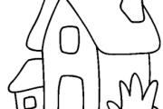 casa para colorir 8