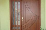 porta externa de madeira 10