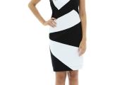 vestido preto e branco 1