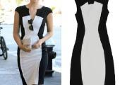 vestido preto e branco 2