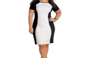 vestido preto e branco 4