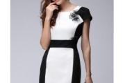 vestido preto e branco 5