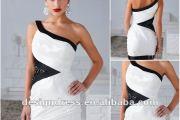 vestido preto e branco 6