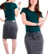 saias jeans coloridas para evangelicas 8