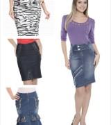 saias jeans coloridas para evangelicas 5