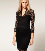 vestido preto de renda 2