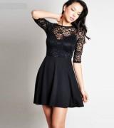 vestido preto de renda 6