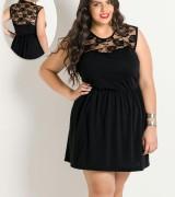 vestido preto de renda 8