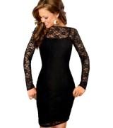 vestido preto de renda 9