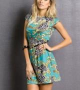 vestido estampado curto 4