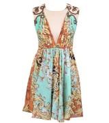 vestido estampado curto 5