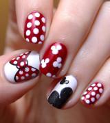 unhas com vermelho decoradas 11