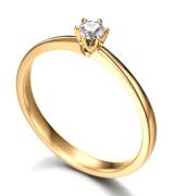 anel solitário 1