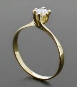 anel de luxo solitário 9